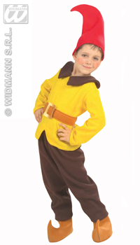Deguisement nain jaune et marron achat vente for Costume nain de jardin
