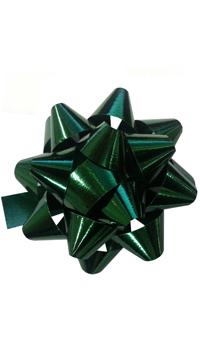Etoile metallisee 12mm verte - Achat / Vente