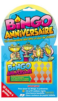 jeu a gratter bingo anniversaire achat vente. Black Bedroom Furniture Sets. Home Design Ideas