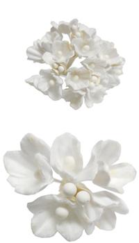fleur bouquet nuance blanc achat vente. Black Bedroom Furniture Sets. Home Design Ideas