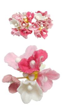 fleur bouquet nuance rose achat vente. Black Bedroom Furniture Sets. Home Design Ideas