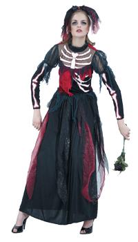 Deguisement mariee squelette achat vente - Deguisement halloween mariee ...