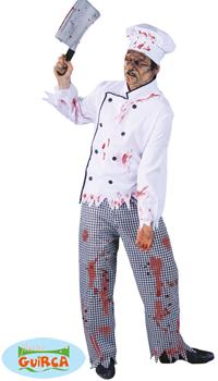 deguisement cuisinier zombie achat vente. Black Bedroom Furniture Sets. Home Design Ideas