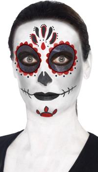 Kit maquillage santa muerte achat vente - Maquillage fete des morts ...