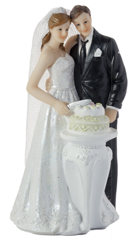 figurine mariage partage du gateau achat vente. Black Bedroom Furniture Sets. Home Design Ideas
