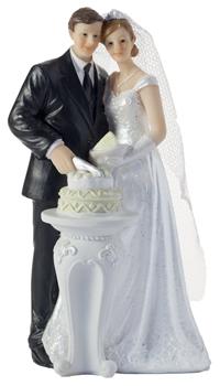 figurine mariage partage du gateau achat vente. Black Bedroom Furniture Sets. Home Design Ideas