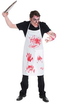 Deguisement cuisinier zombie achat vente for Cuisinier zombie
